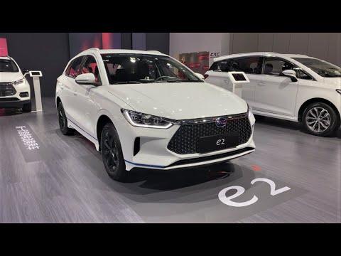 2021 BYD e2 EV Walkaround—2020 Chengdu Motor Show—2021款比亚迪e2,外观与内饰实拍