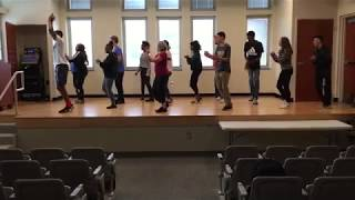 Heights High Spanish Class Learns Salsa Dancing