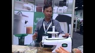 How To Juice And Make Date Macadamia Nut Roll Dessert In The Green Star Elite Juicer
