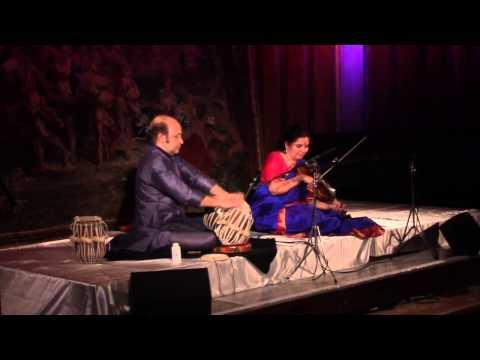 Kala Ramnath Performing Raag Basant Live at KOLN Radio in Bielefeld, Germany
