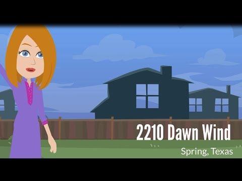 HOT LISTING! FOR SALE - 2210 Dawn Wind Lane, Spring, TX