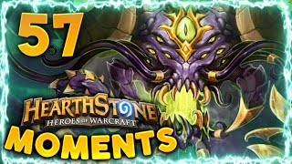 Hearthstone Daily Funny and Lucky Moments Ep. 57 | Y'Shaarj, Rage Unbound Cuck