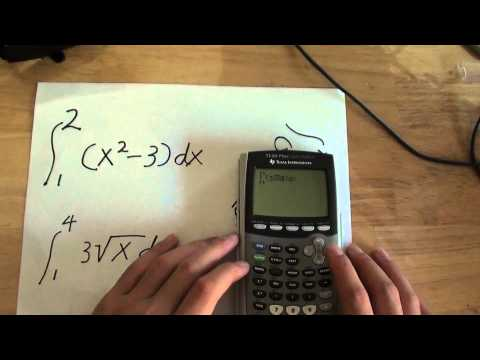 Diy How To Solve Definite Integral Using Ti