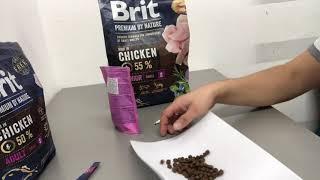 Сухой корм Brit Premium Dog Junior S для щенков и молодых собак мелких пород со вкусом курицы
