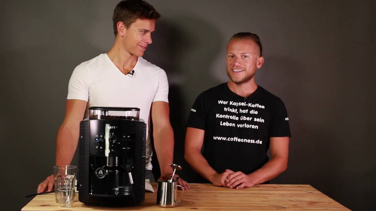 8108 Test Ea Im Krups Kaffeevollautomat Fail Milchschaumexplosion OuTXZPkwi