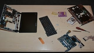 видео Ремонт ноутбука ACER Aspire One AO752