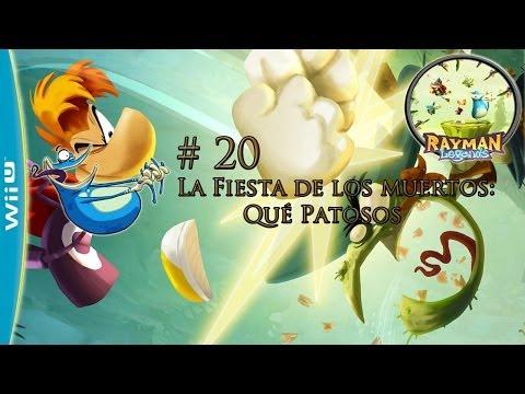 Guía Rayman Legends - fiesta de los muertos #20 walkthrough - Wha the Duck?