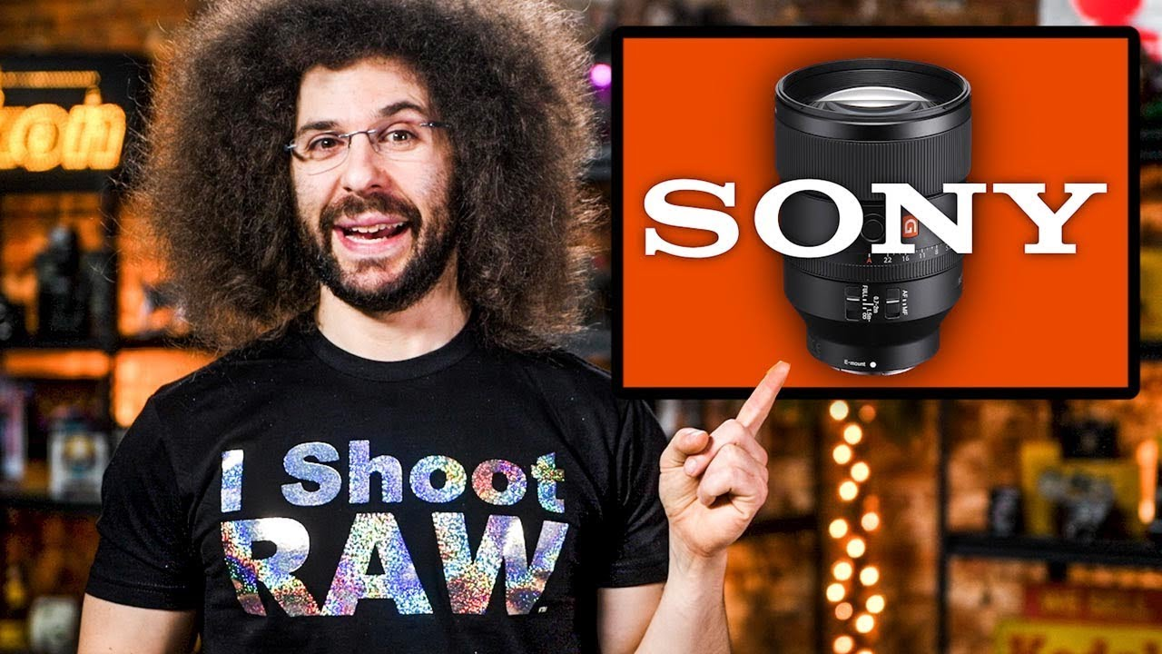 Sony's BEST LENS EVER? The END of FUJIFILM?