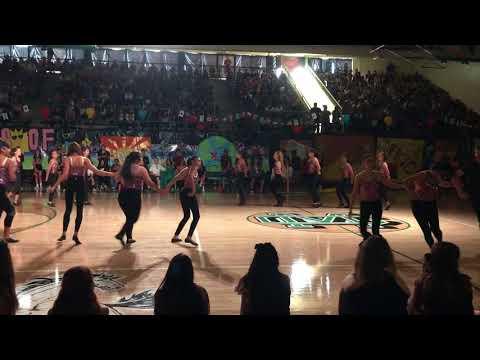 CMHS Dance Team Homecoming Rally 17-18