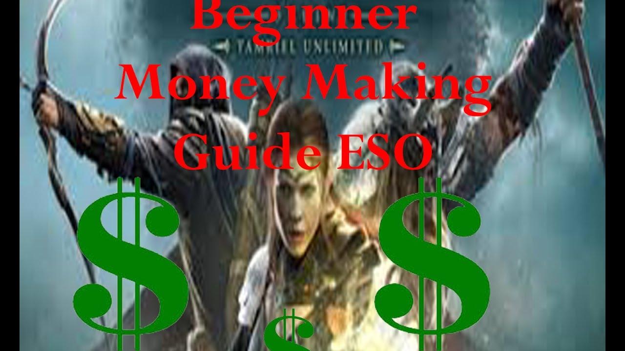 elder scrolls online how to get money