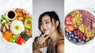 WHAT I EAT IN A DAY FOR HEALTHY CLEAR SKIN ?