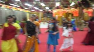 Navaratri 2009 at Divya Dham Mandir NY- 12