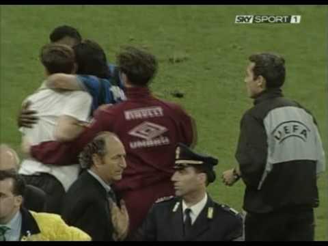 Zanetti s'infuria contro Hodgson