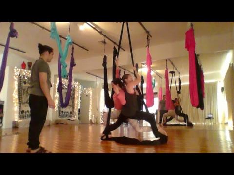 Aerial Silks Fun - Feat. Silky Lilly