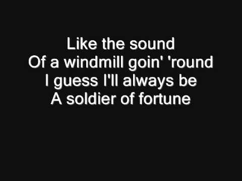 Deep Purple  Soldier of Fortune Lyrics