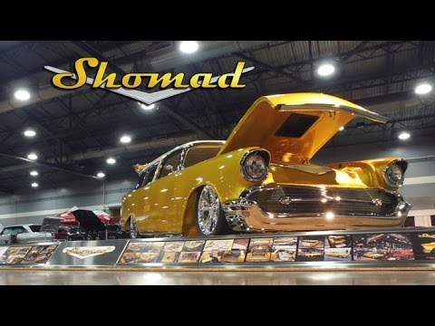 Shomad - Nomad Custom 1957 Chevrolet by A&M Deluxe Customs at the 2017 Portland Roadster Show