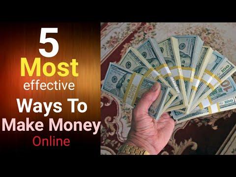 5 Legit and Most Effective Ways To Make Money Online   How To Make Money Online 2021