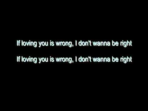 Rod Stewart - (If Loving You Is Wrong) I Don't Want To Be Right - With Lyrics