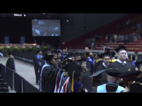 UHCL Spring 2017 Commencement - College of Education and College of Science and Engineering