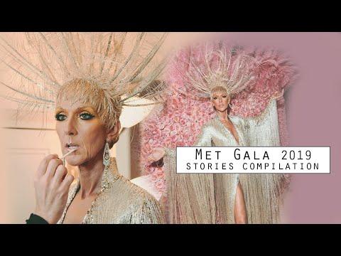 Celine Dion Met Gala 2019 - Instagram stories compilation