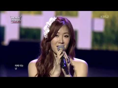 Soyu (SISTAR)  - I Think I (live HD)