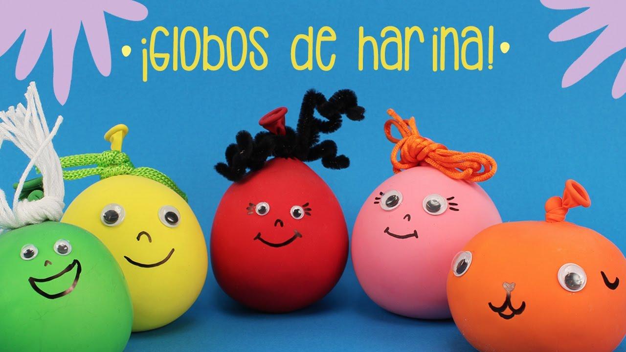 C mo hacer unos globos sensoriales youtube - Hacer munecos con globos ...
