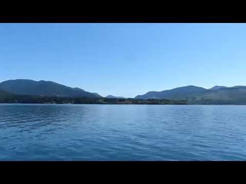 Cowichan Lake on Vancouver Island British Columbia