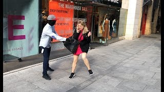 Frightening people with fake Mannequin Prank: Hilarious  Reactions