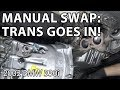 BMW E46 Manual Swap Project: Transmission Installation