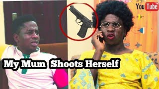 When Your African Mother Shoots Herself In The Leg | MC SHEM COMEDIAN | African Comedy