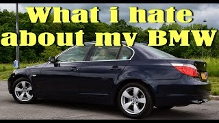 6 Things i hate about my BMW 5series