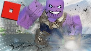 BECOMING THANOS IN ROBLOX - PART 2