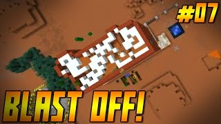 "BLAST OFF! Ep 07 - ""Tornado 2: Electric Boogaloo!!!"" (Minecraft HQM Modpack)"