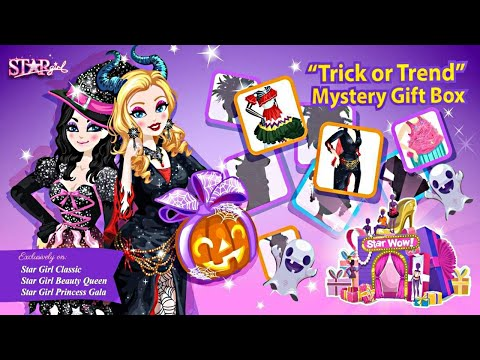 TRICK OR TREND (HALLOWEEN SPECIAL / STAR WOW /STAR GIRL REVIEW) 2017