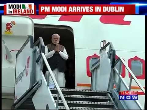 PM Modi Arrives In Ireland