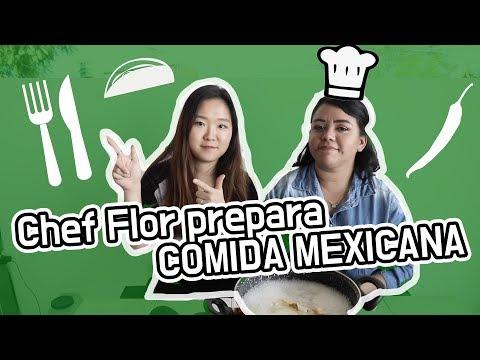 Chef Flor prepara COMIDA MEXICANA