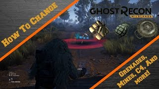 How to Change your grenades and more!   Ghost Recon wildlands
