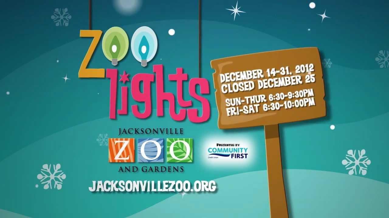 Jacksonville Zoo Christmas Lights