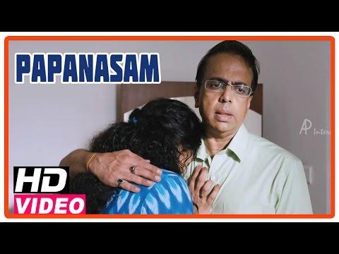 Papanasam Tamil Movie | Scenes | Asha Sarath Feels Sad About Her Son | Kamal Haasan