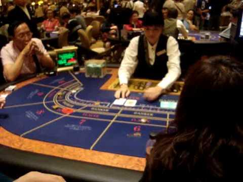 Đánh bài ở sòng bài Venetian Macau -sòng bài lớn nhất Macau  (17h28-14/08/2009).