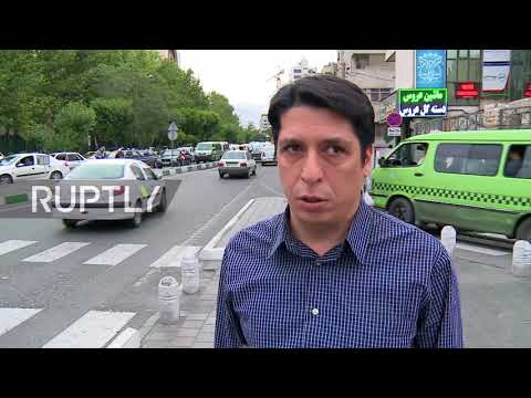 Iran: Residents of Tehran react to US sanctions after Pompeo demands