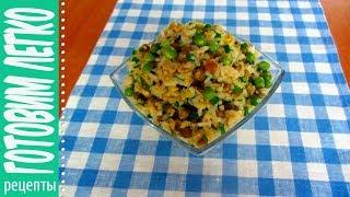 Рис с яйцом по китайски. Готовим легко