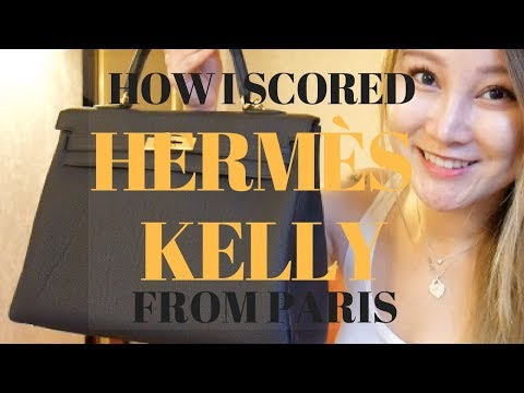 HOW I GOT HERMES KELLY FROM PARIS | STORY + EXPERIENCE | Cherry Tung