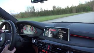 [50p] Launch Control to 240 km/h / 150 mph BMW X5M 575 HP