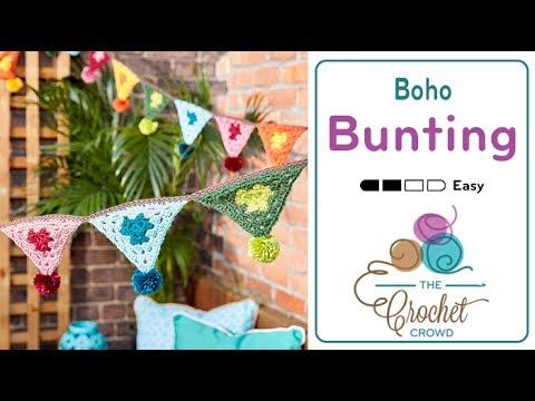 How to Crochet Bunting: Flags and Festival Decorations