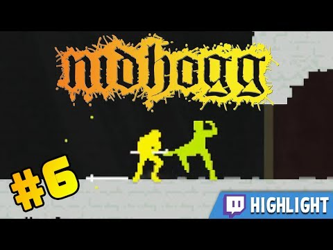 Stumpt Tournament - Nidhogg - #6 - Tournament of Salt [Twitch VOD]