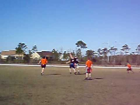 Orange Crush Flag Football Defensive Rush