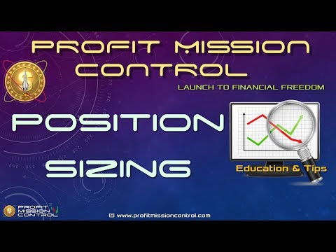 Profit Mission Control Stock Position Sizing and Growth Calculator