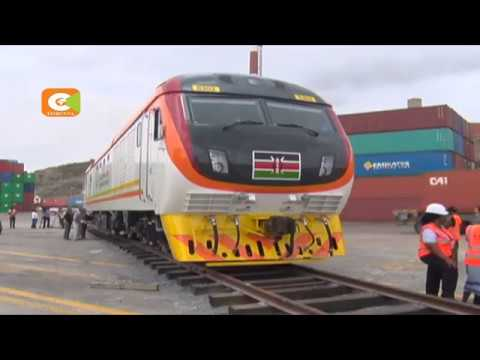 President Kenyatta to flag off SGR maiden freight  train this afternoon