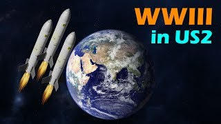 WWIII [USA Vs. Russia] In Universe Sandbox 2
